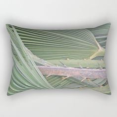 Buy Palm leaves natural pattern Rectangular Pillow by annaki. Worldwide shipping available at Society6.com. Just one of millions of high quality products available.