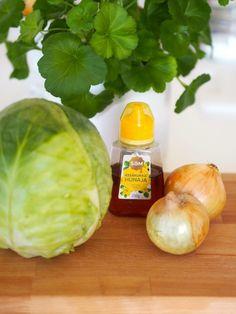 Syksyinen kaalipaistos - Hunajainen SAM Onion, Vegetables, Drinks, Food Ideas, Drinking, Beverages, Onions, Vegetable Recipes, Drink