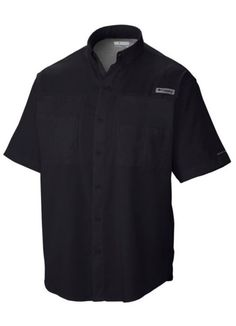 695b126b Tamiami II SS Shirt in Black by Columbia - Columbia Mens Columbia Sportswear,  Fishing Shirts