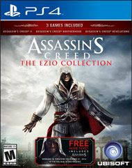 Live the complete saga of Master Assassin Ezio Auditore da Firenze, the most iconic leader of the Brotherhood of Assassins, as you seek vengeance for the betrayal of your family in a time of greed, corruption, and murderous conspiracy.