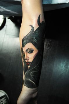 'Maleficent finally comes true True Tattoo, Maleficent Tattoo, Tattoos, Malificent Tattoo, Disney Sleeve Tattoos, Sleeve Tattoos, Disney Tattoos, Beautiful Tattoos, Angelina Jolie Tattoo