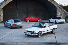 Like Invisible Touch, the M3, a vehicle made by the Bavarian Motor Works company of West Germany, turns 30 this year. I would argue that it has aged better than that album, and this massive photo gallery of M3s—including weird-ass one-offs—is proof of that.