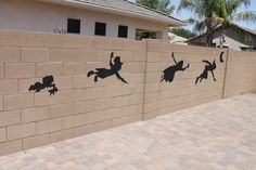 Peter Pan and Tinkerbell Party - cut outs using black paper - could put around the house on the outside