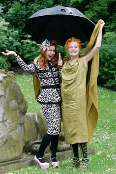 Paloma Faith and Vivienne Westwood. My two favourite nutty birds! Vogue Fashion, Fashion News, Girl Fashion, Fashion Design, Paloma Faith, Fairytale Fashion, Vivienne Westwood, Fashion Pictures, Lady