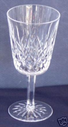 Waterford Lismore Crystal Goblet $38.99