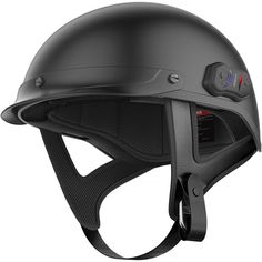 Buy the first ever fully Bluetooth integrated motorcycle half-helmet from Sena. The Cavalry motorcycle helmet is the all-in-one solution for your ride. Shop now! Bluetooth Motorcycle Helmet, Motorcycle Helmets, Riding Helmets, Women Motorcycle, Vespa Helmet, Motorcycle Outfit, Half Helmets, Full Face Helmets, Automobile