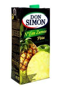 Don Simon Pineapple, Apple and Grape Juice - 当西蒙菠萝(凤梨)、苹果和葡萄汁:Nước ép hỗn hợp thơm, táo và nho hiệu Don Simon được sản xuất tại Tây Ban Nha, dùng uống trực tiếp, lắc kỹ trước khi dùng và ngon hơn khi dùng lạnh. Gia vị thực phẩm các loại www.foodgia.com