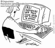 RSI sufferers web page