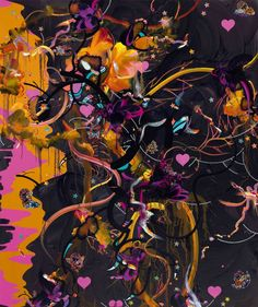 Fiona Rae painting