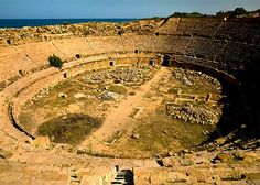 Roman Empire: Leptis Magna (Libya)