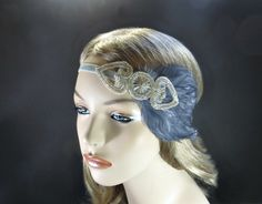 1920s Hair Accessories Great Gatsby Wedding by FlowerCouture, $30.00