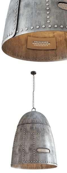 Ira Frolova | Metal Rivet Hanging Lamp Render