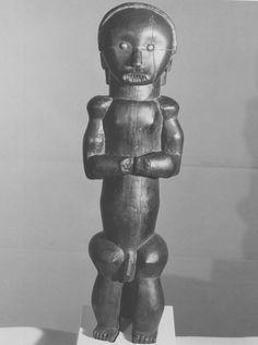 Fang Eyema Byeri (Reliquary Guardian Figure), Ntumu, Gabon http://www.imodara.com/post/110185405134/gabon-fang-eyema-bieri-reliquary-guardian