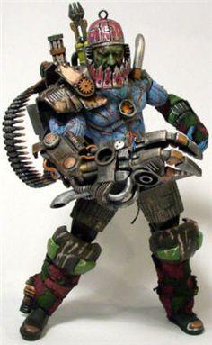 Steampunk Trap Jaw Custom MOTU Classics by Sculpt-Bot