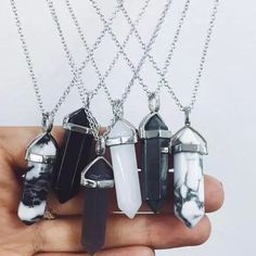 Crystal Necklaces | @andwhatelse