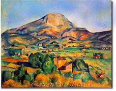 The famous artist Paul Cezanne (known as the father of modern art) was one of the first post-impressionist painters of the century. Paul Cezanne created paintings that led the way for abstract art and cubism in the century. Cezanne Art, Paul Cezanne Paintings, Henri Rousseau, Henri Matisse, Paul Gauguin, Paul Cézanne, Famous Art Pieces, Art Du Monde, Georges Braque