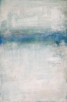 "Saatchi Online Artist Kiki Slaughter; Painting, ""water's edge"" #art"