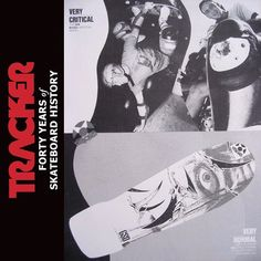 #danwilkes #gsd #trackertrucks ad 1987. Order the gnarly 388-page coffee table book TRACKER - Forty Years of Skateboard History at top profile link @trackertrucks.