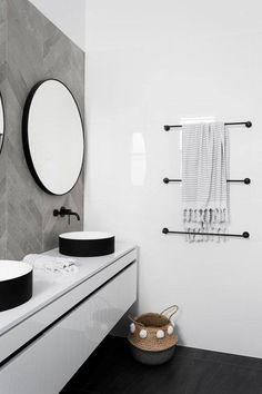 Find bathroom ideas for bathroom remodel and bathroom modern, bathroom design, bathroom vanity, bathroom inspiration and more with before and after bathrooms Read Bathroom Renos, Laundry In Bathroom, Bathroom Renovations, Bathroom Faucets, Master Bathroom, Bathroom Ideas, Vanity Bathroom, Gold Bathroom, Dark Floor Bathroom