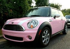 Must have: light pink Mini Cooper Cooper Car, Mini Cooper S, Palermo, My Dream Car, Dream Cars, Pink Mini Coopers, Volkswagen, Mini Cooper Convertible, Car Goals
