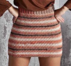 Fabulous Crochet a Little Black Crochet Dress Ideas. Georgeous Crochet a Little Black Crochet Dress Ideas. Crochet Skirt Outfit, Crochet Bodycon Dresses, Black Crochet Dress, Crochet Skirts, Crochet Clothes, Knitted Skirt, Mode Crochet, Crochet Diy, Crochet Amigurumi