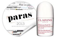 Viikon paras: Clarinsin antiperspirantit