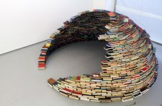 An Igloo made out of books. You could wonder why. Or you could - as me - think: Awesome! ;)