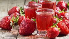 Domáci jahodový likér   Recepty.sk Smoothie Detox, Natural, Alcoholic Drinks, Strawberry, Food, Fat Burning, Strawberry Fruit, Recipes, Battle