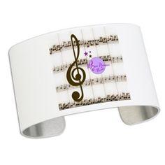 MoonDreams Music Notes Cuff Bracelet #cuffbracelet #moondreamsmusic #music #fashion #accessories