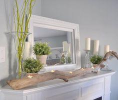 deko astgabel für den tisch oder sideboard
