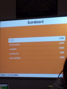 A typical Kahoot game in my class #Followme #CooliPhone6Case on #Twitter…