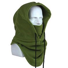 Oldelf Tactical Heavyweight Balaclava Outdoor Sports Mask for Outdoor hiking Camping Hiking Skiing Cycling and Other sports (Army Green) Winter Hats For Men, Balaclava, Snowboard, Hoodies, Sweaters, Face, Sports, Fashion, Caps Hats