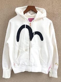 e8000484541a Excited to share the latest addition to my shop  Evisu big logo embroidered  women clothing hoodie sweatshirt zipper sweater pullover Japanese  streetware ...