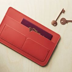 personalised travel wallet by brit-stitch | notonthehighstreet.com