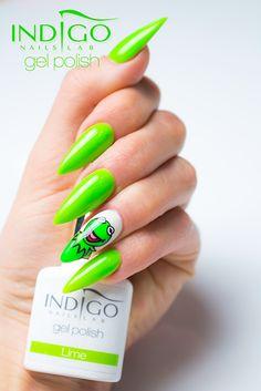 by Paulina Walaszczyk Double Tap if you like #nails #nailart #nailpolish Find more Inspiration at www.indigo-nails.com
