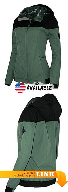 B073Q7M9HY : The North Face Women's Harlow Spring/Fall Full Zip Hooded Jacket (S DUCK GREEN). Hidden Hood Zip hand pockets. Water/wind resistant. Lined. Polyester/nylon. Authentic #Apparel #OUTERWEAR