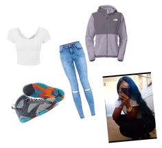 """""""Untitled #128"""" by sirionnaw on Polyvore featuring The North Face"""
