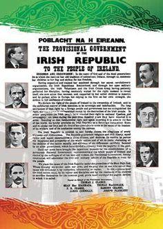 irish proclamation add on - Google Search