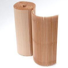 Rollo de cushionPaper: el sustituto ecologico del plastico de burbujas para proteger tus objetos fragiles. Cada rollo tiene una longitud de 3,5 metros y 60 cm de anchura, esta' parcialmente cortado cada 39 cm. Hecho de papel reciclado y 100 % reciclable.