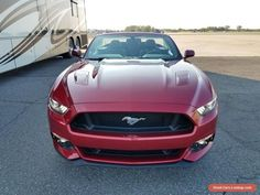 2017 Ford Mustang GT Premium Convertible #ford #mustang #forsale #unitedstates