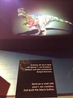 Den eigenen Tyrannosaurus gestalten und Bild zusenden lassen :) #Unterhaltung #Tyrannosaurus #Salzburg Salzburg, Entertainment, Tyrannosaurus, Movie Posters, Movies, Art, Time Travel, Dinosaurs, Entertaining