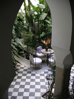 all the elements, grandeur & aesthetics I would wish for in a garden room…