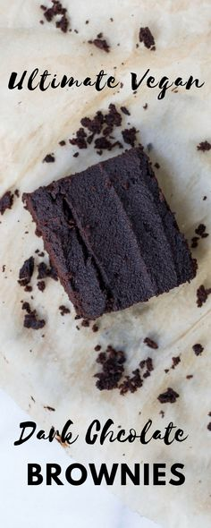 Are you the only vegan in the house? Fool your family with these unbelievable vegan chocolate brownies - so good you won't even need to whisper the word 'vegan'!