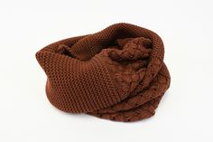 Campfire Scarf | We adore the way these contrasted knit patterns flatter the utterly cozy fabric and looped design. Take this scarf along any time you need to bundle up! www.mooreaseal.com