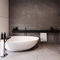 r-house (interior design), @ Pabianice by Tamizo Architects Bathroom Design Inspiration, Bad Inspiration, Modern Bathroom Design, Bathroom Interior Design, Modern Interior, Modern Luxury, Minimal Bathroom, Design Ideas, Bathroom Designs