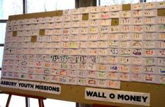 Wacky Fundraisers That Work - Wall-O-Money