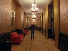 The Shining. AMAZING geometric carpet! #theoverlook