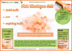 ☛ Do you use Pink Himalayan salt?  It contains a wealth of nutrients that are very good for you.  ✒ Share | Like | Re-pin | Comment