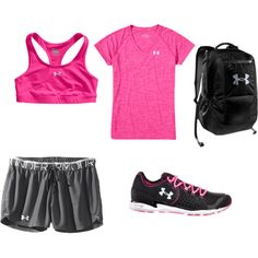 """Under Armour"" by ajfins on Polyvore"