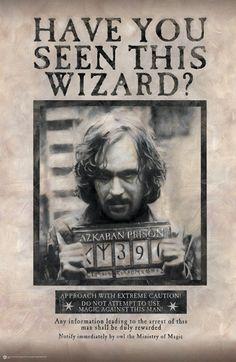 Wanted - Sirius Black wall mural